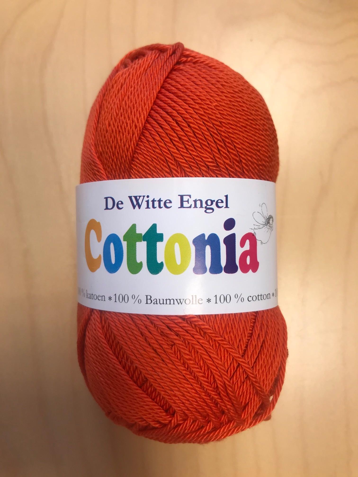 De Witte Engel De Witte Engel Cottonia brei- en haakkatoen - Oranje 198