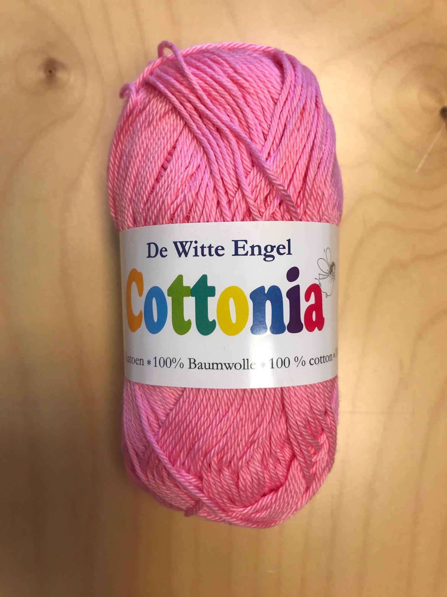 De Witte Engel De Witte Engel Cottonia brei- en haakkatoen -Roze 032