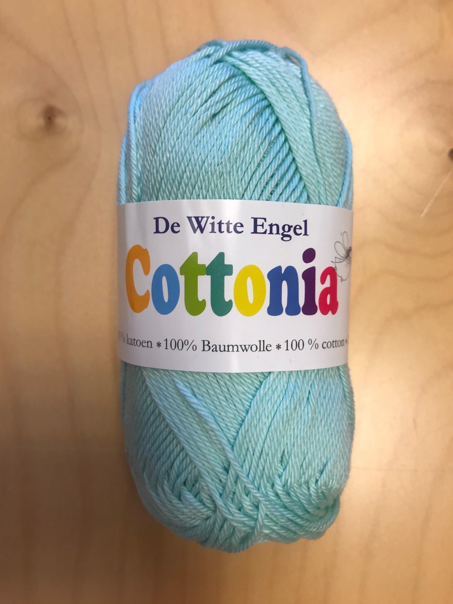 De Witte Engel De Witte Engel Cottonia brei- en haakkatoen - Licht Turquoise 129