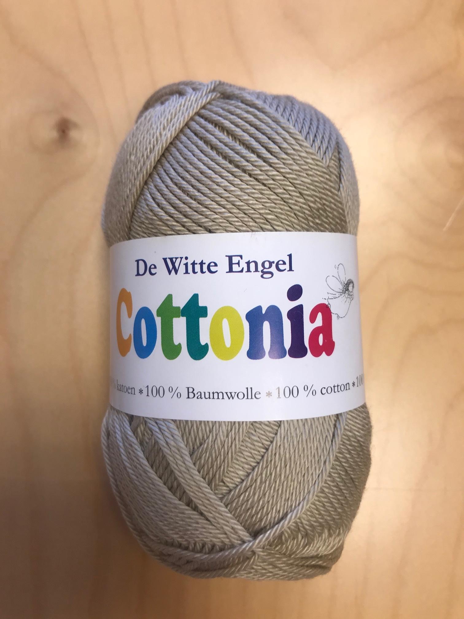 De Witte Engel De Witte Engel Cottonia brei- en haakkatoen - Beige 214