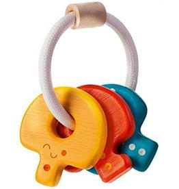 Plantoys PlanToys  Baby Key Rattle 4m+