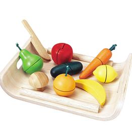 Plantoys PlanToys Assorted Fruit & Vegetable 3y+