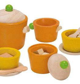 Plan Toys PlanToys Tea Set 3y+