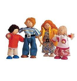 Plantoys PlanToys Poppenhuis Modern Doll Family 3y+