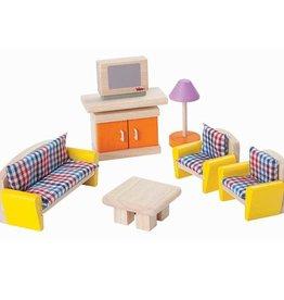 Plantoys PlanToys Poppenhuis Livingroom Neo 3y+ (7307)