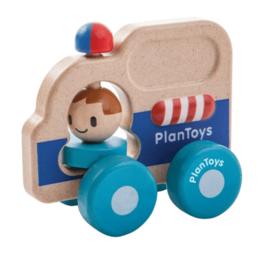 Plantoys PlanToys Rescue Car / Politie auto 12m+