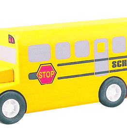 Plantoys PlanToys School bus 3y+