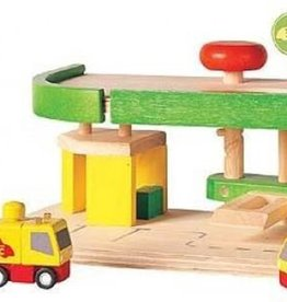 Plantoys PlanToys Car Repair & Service Station 3y+