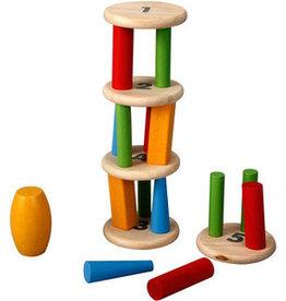 Plantoys PlanToys Tower Tumbling / Evenwichtstoren 3y+