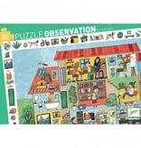 Djeco Djeco Observatiepuzzel - Het huis 35pcs 3y+