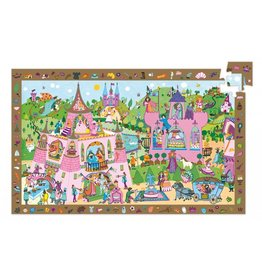 Djeco Djeco Observatiepuzzel - Prinsessen 54pcs 4y+