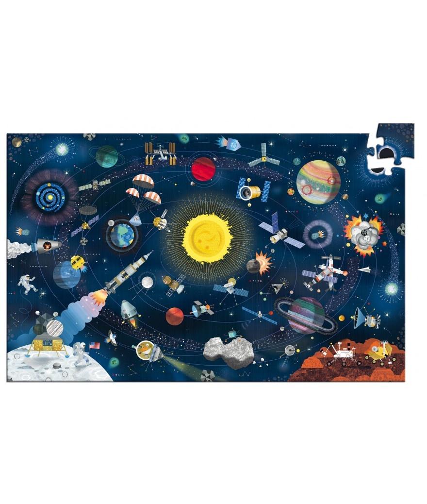 Djeco Djeco Observatiepuzzel - De Ruimte 200pcs 6y+