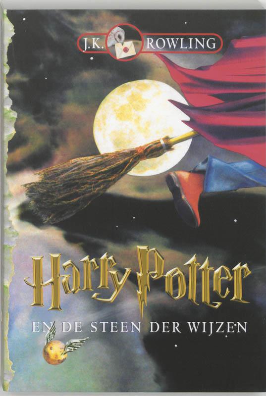 J.K. Rowling, Harry Potter en de steen der wijzen (pap)