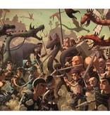 Djeco Djeco Observatiepuzzel - Gevecht met de draken 350pcs 8y+