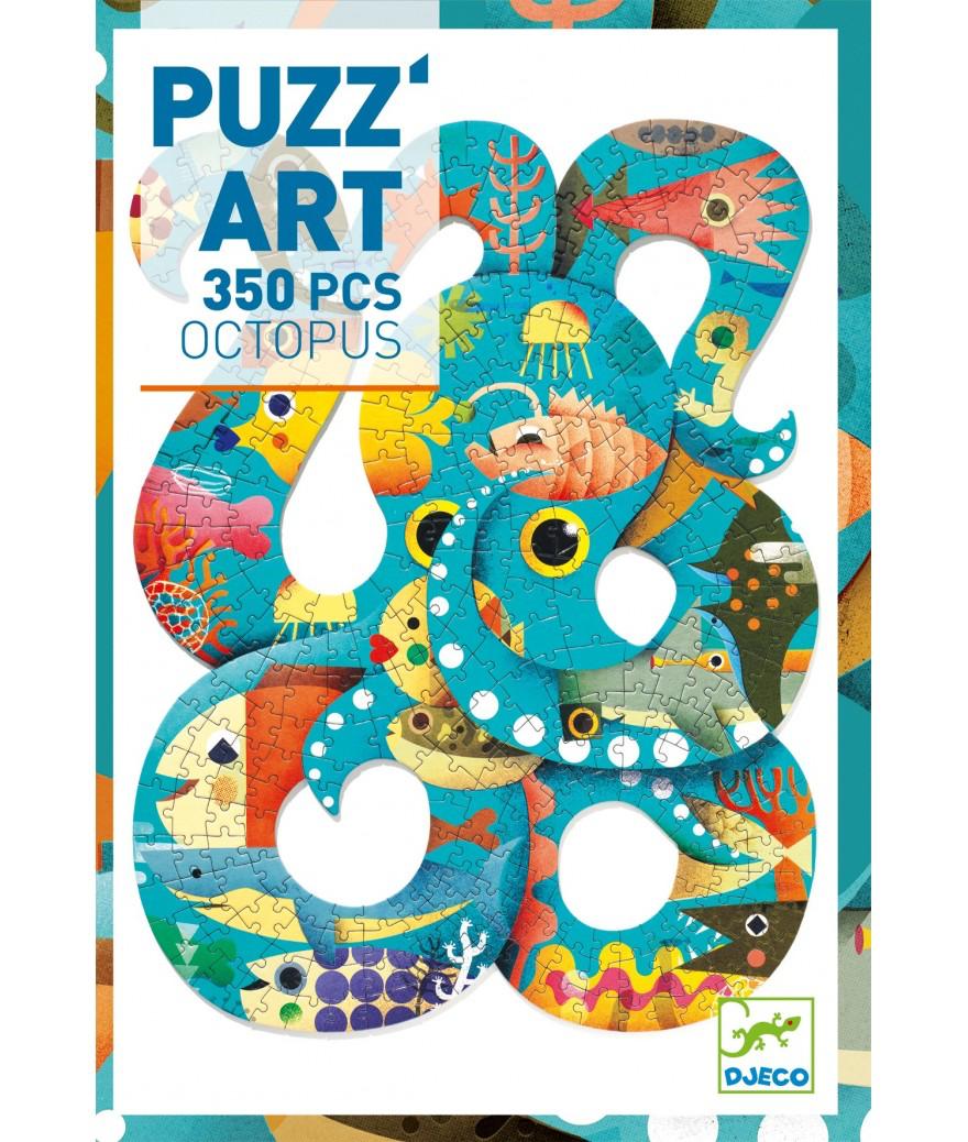 Djeco Djeco Puzz'Art - Octopust 350pcs 7y+