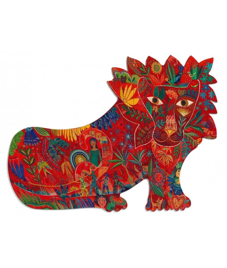 Djeco Djeco Puzz'Art - Leeuw 150pcs 6y+