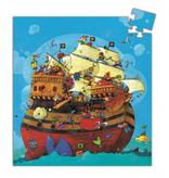 Djeco Djeco Puzzel - Het Schip van Roodbaard 54pcs 5y+