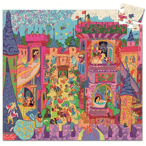 Djeco Djeco Puzzel - Het feeërieke kasteel 54pcs 5y+