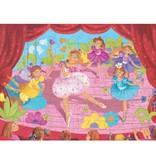 Djeco Djeco Puzzel - Het danseresje met de bloem 36pcs 4y+