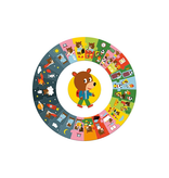 Djeco Djeco Puzzle Géant - De dag - 3y+