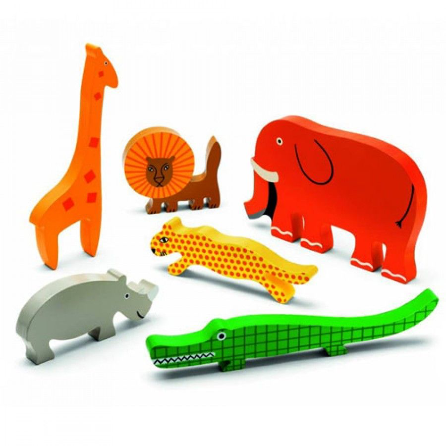 Djeco Djeco Reliëf puzzel - Botablo Jungle - 18m+
