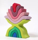 Grimms Grimm's Kleurrijke Lotusbloem  - 22cm - 9 delig