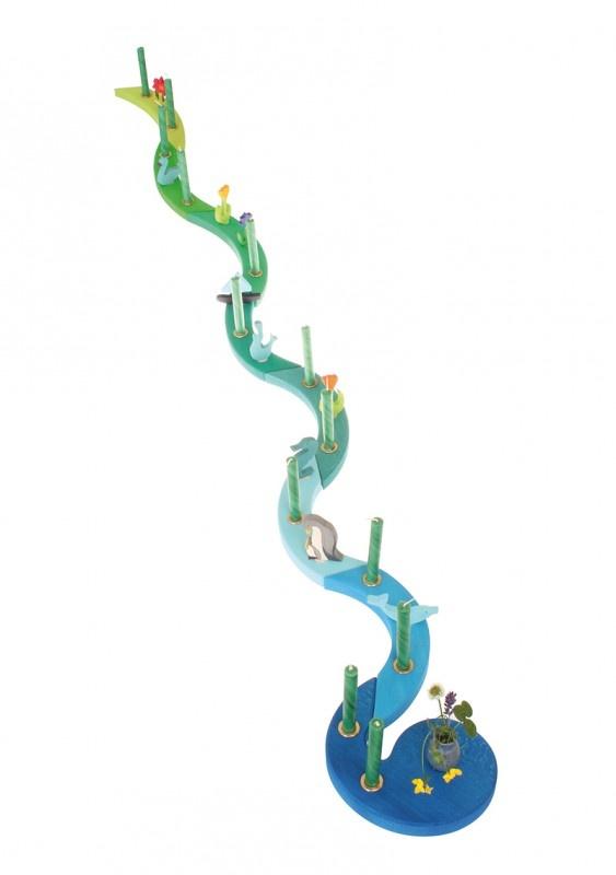Grimms Grimm's  Spiraalvormige jaarring - Blauw/Groen
