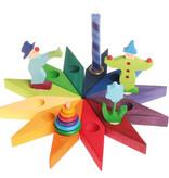 Grimms Grimm's  Verjaardagsster 12 gaatjes - Regenboog