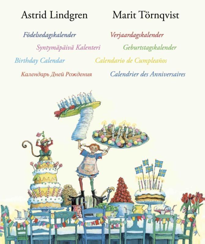 Astrid Lindgren, Verjaardagskalender