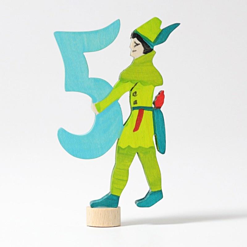 Grimms Grimm's  Steker - Sprookjescijfer 5 Robin Hood