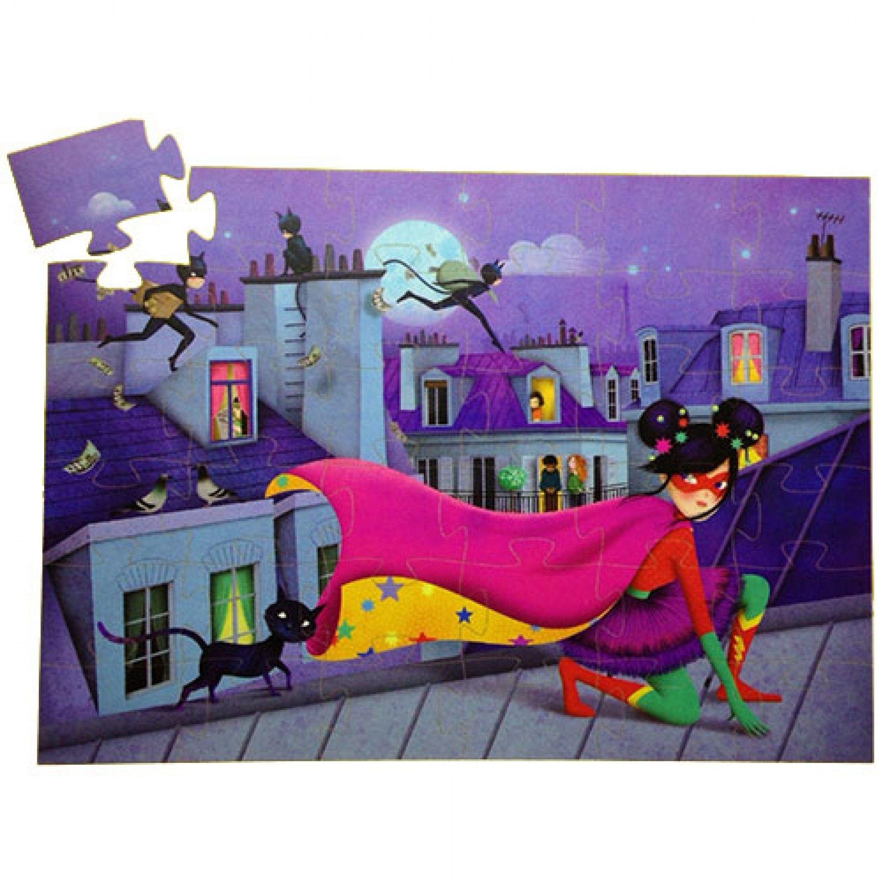 Djeco Djeco Puzzel - Super Star  36pcs  4y+
