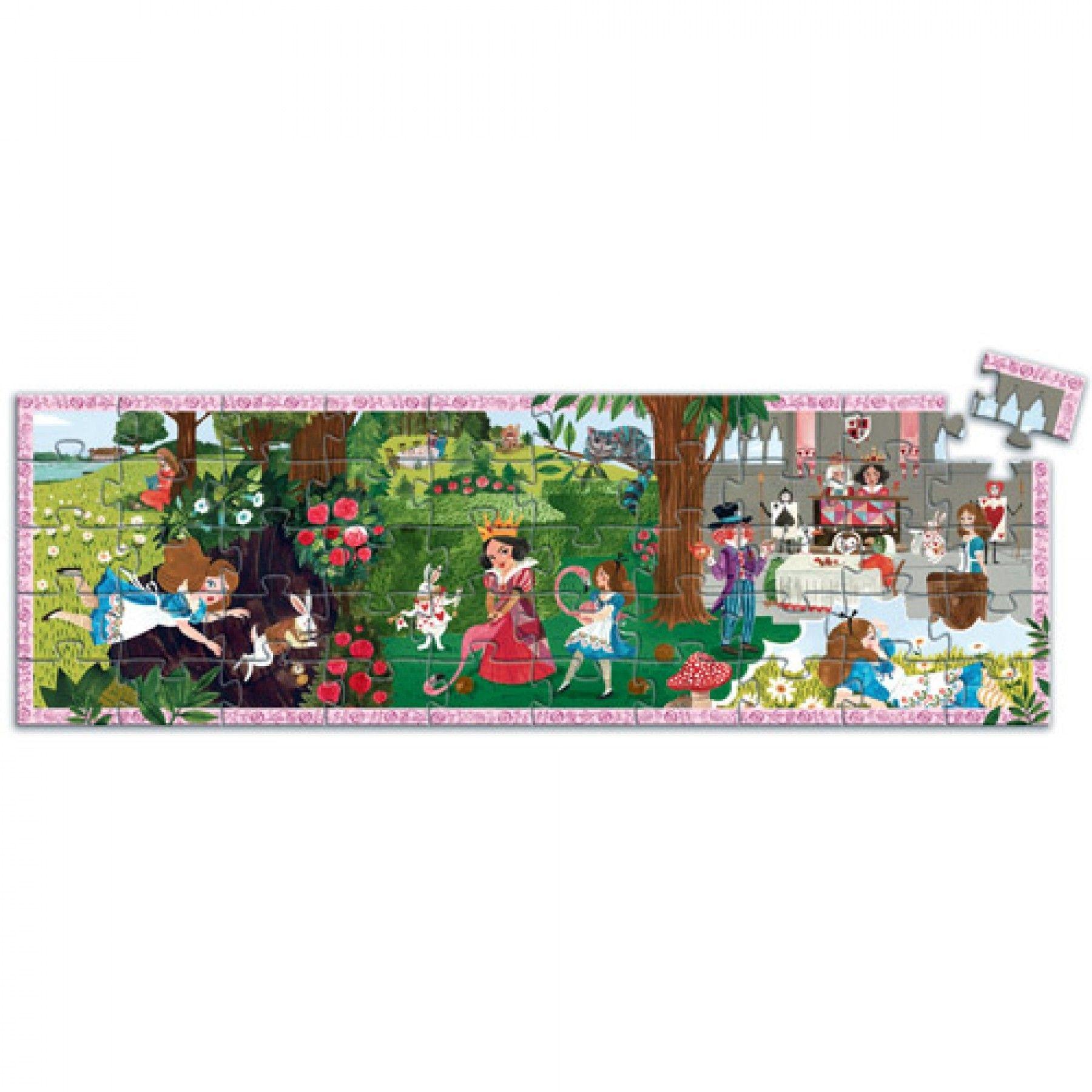 Djeco Djeco Puzzel - Alice in Wonderland 50pcs 5y+