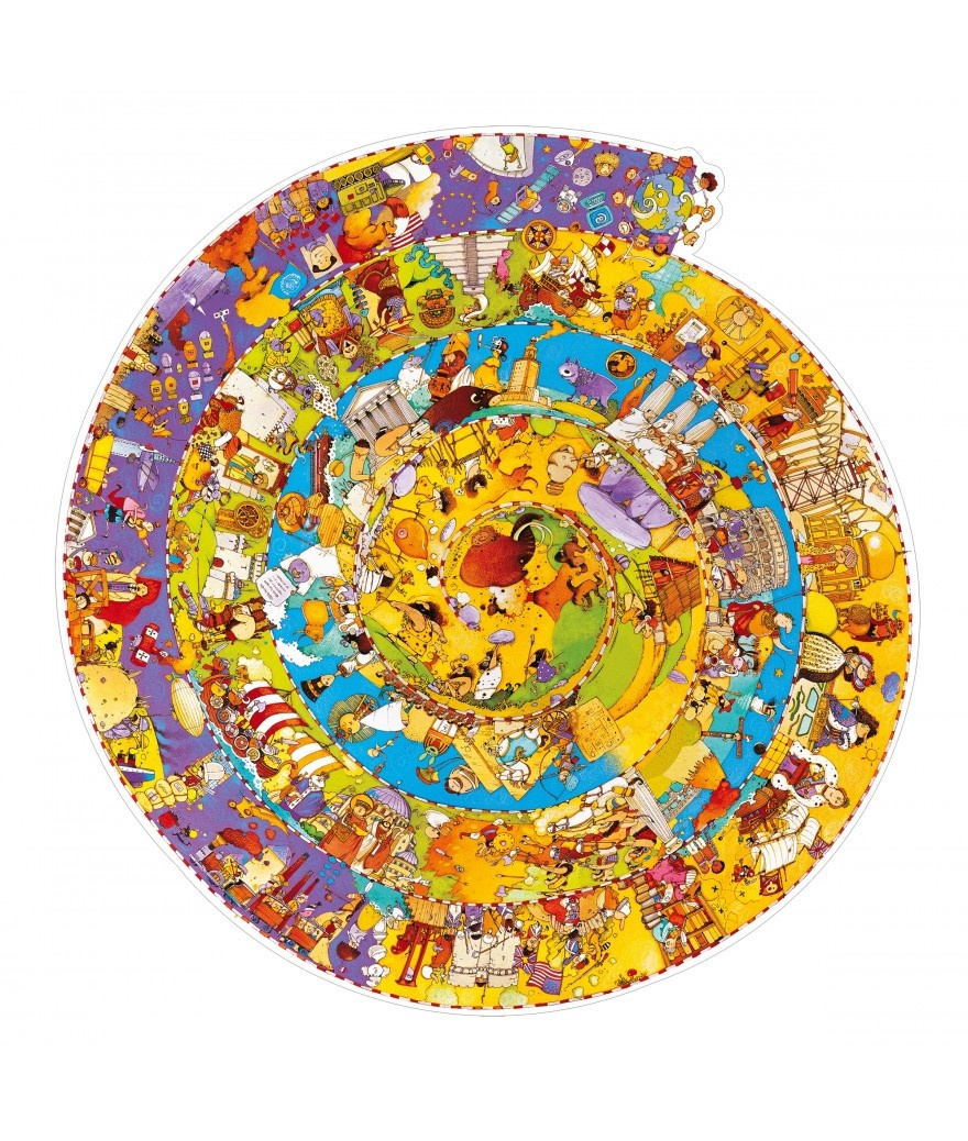 Djeco Djeco Observatiepuzzel - Geschiedenis 350pcs 7y+