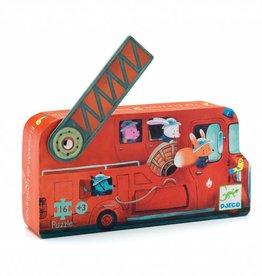 Djeco Djeco Puzzel - De brandweerwagen 16pcs 3y+