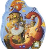 Djeco Djeco Puzzel - Joris en de Draak  54pcs 5+