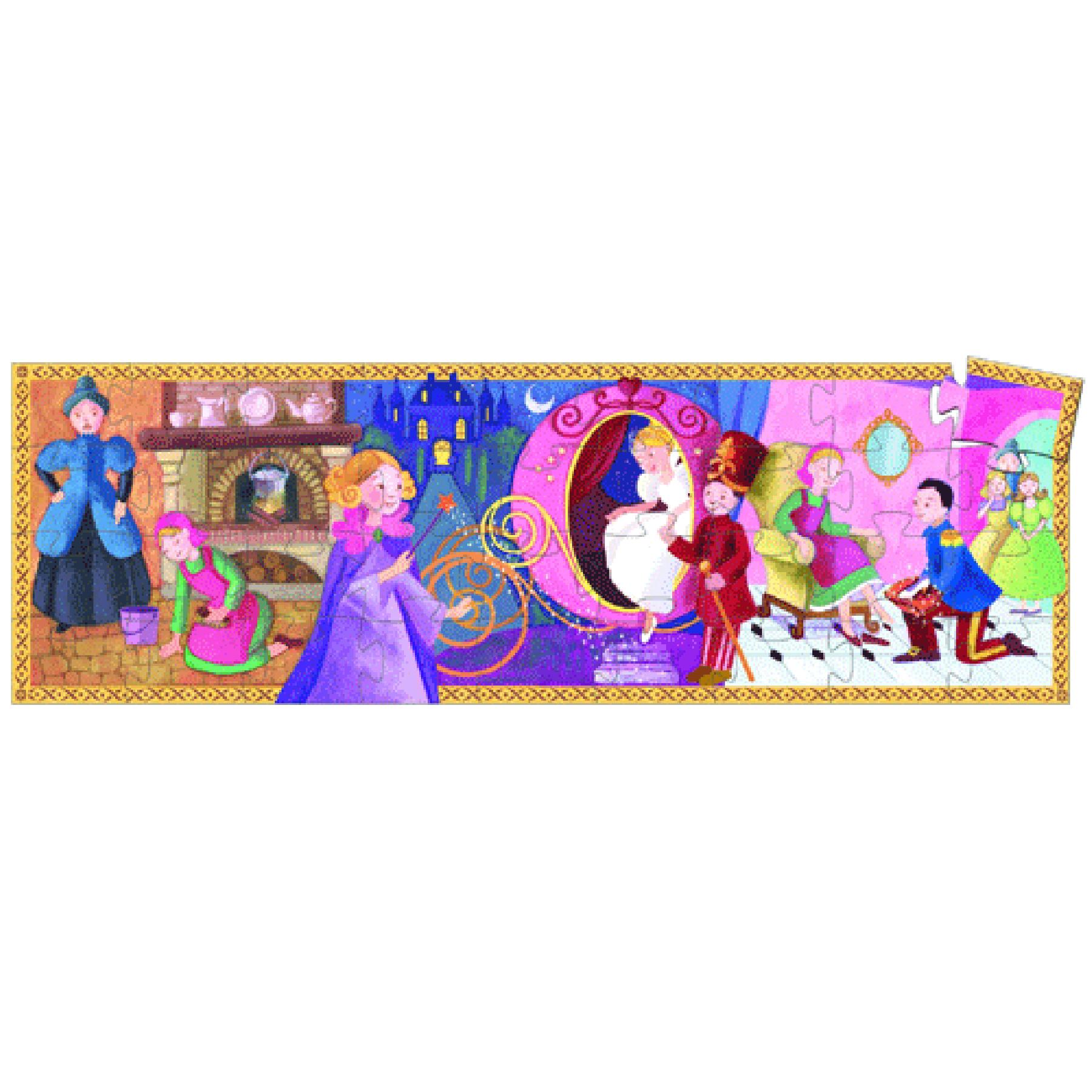 Djeco Djeco Puzzel - Assepoester  36pcs 4+