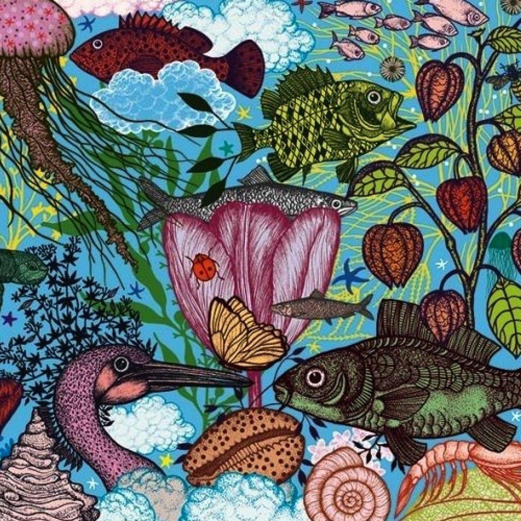Djeco Djeco Gallerypuzzel - Land & Sea  1000pcs 9y+