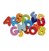 Goki Djeco - Magnetische Alfabet hoofdletters - 38 pcs Groot