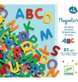 Goki Djeco - Magnetische Alfabet hoofdletters - 83 pcs Klein