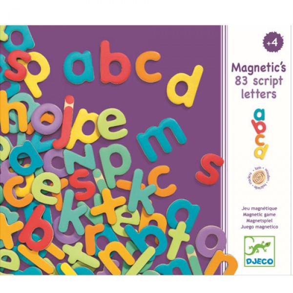 Goki Djeco - Magnetische Alfabet onderkastletters - 83 pcs Klein