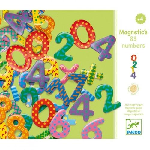 Goki Djeco - Magnetische cijfers en bewerkingen - 38 pcs