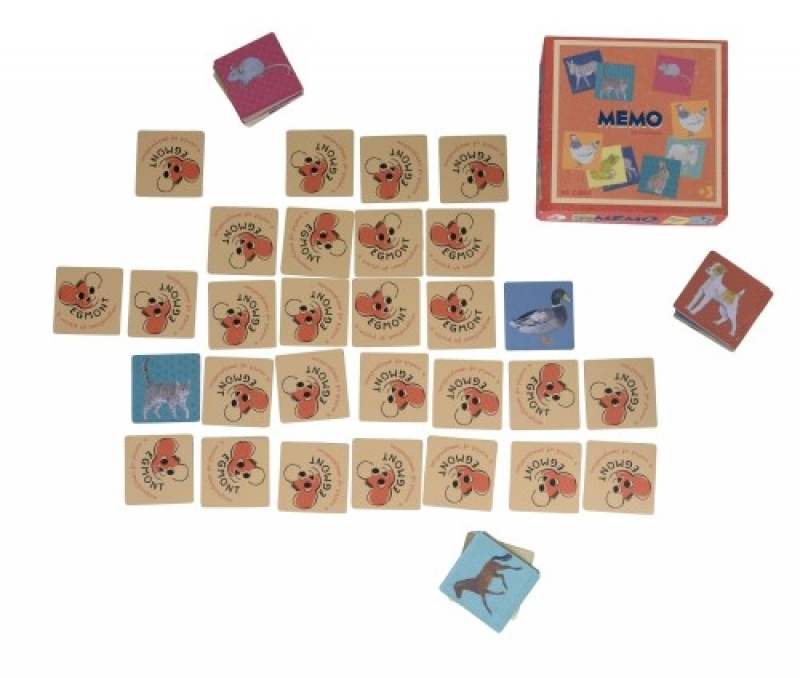 Egmont toys Egmont Toys - Memory - Boerderijdieren 3y+