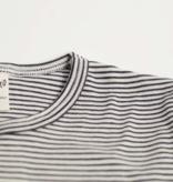 Lilano Lilano Kinder shirt  korte mouw - Katoen/Zijde - Gestreept