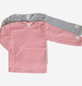 Lilano Lilano Baby shirt  lange mouw - Katoen/Zijde - Gestreept