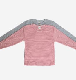 Lilano Lilano Kinder shirt  lange mouw - Katoen/Zijde - Gestreept