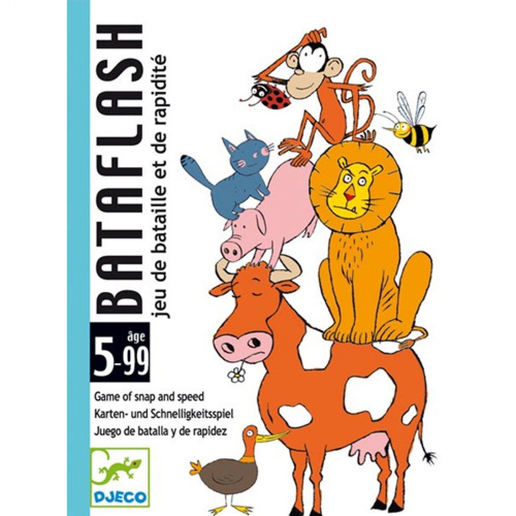 Djeco Djeco - Kaartspel Bataflash 5y+