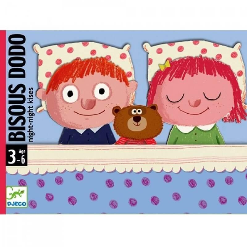 Djeco Djeco - Kaartspel Bisous Dodo 3y+