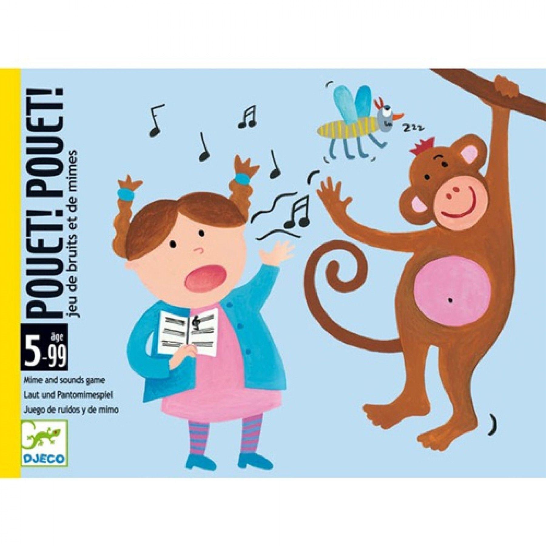 Djeco Djeco - Kaartspel Pouet! Pouet! 5y+