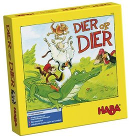 HABA HABA Minispel - Dier op Dier stapelen 5y+