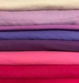 Flanel - Katoen - in alle kleuren van de regenboog